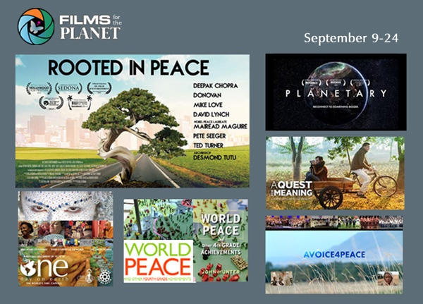 Peace Rising: World Peace & Global Unity Streaming Film Series